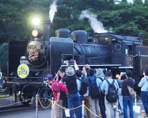 蒸気機関車C56―160号機