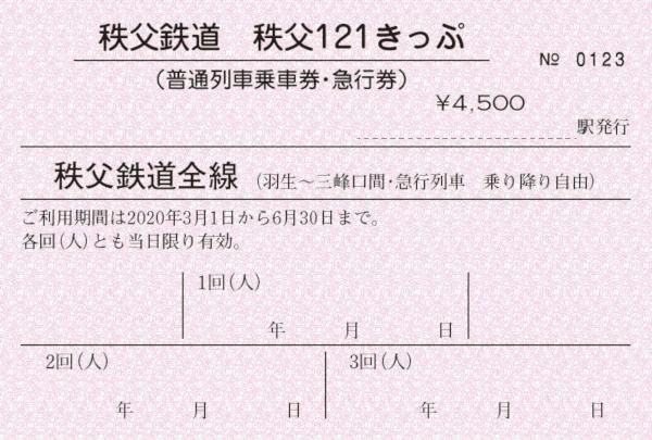 秩父121きっぷ