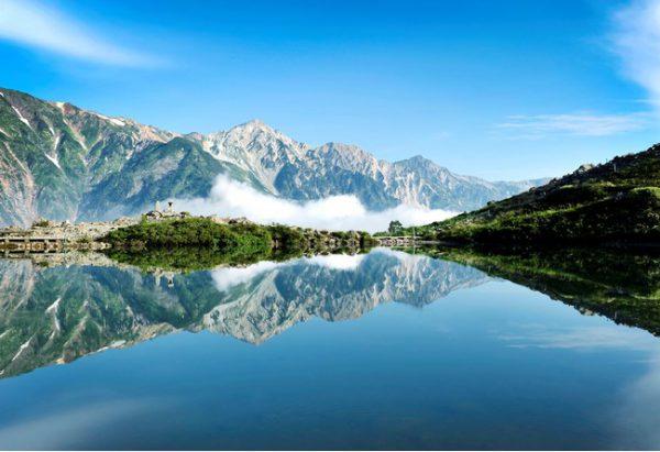 白馬村八方池の絶景へ